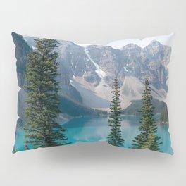Moraine Lake - Trees Pillow Sham