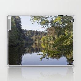 Morning reflections at Mallards Pike Laptop & iPad Skin