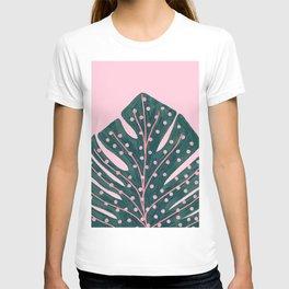 Polka Dots Monstera T-shirt
