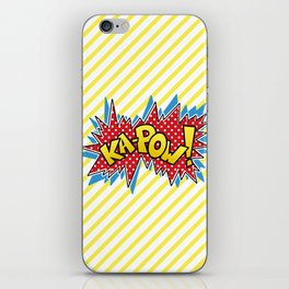 Ka-Pow iPhone Skin