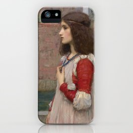 "John William Waterhouse ""Juliet"" iPhone Case"