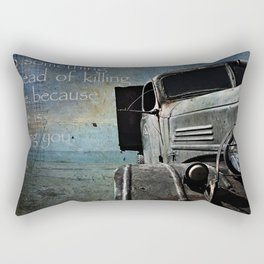 The Rust Rectangular Pillow