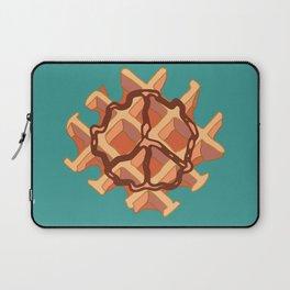 Belgium Peace Waffle Laptop Sleeve