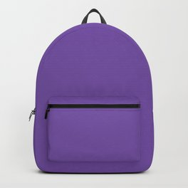 From The Crayon Box – Royal Purple - Bright Purple Solid Color Backpack