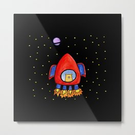 Impossible Astronaut Metal Print