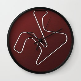 Circuito de Jerez Angel Nieto Wall Clock