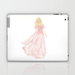 The Pink Dress Laptop & iPad Skin