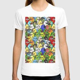 Too Many Birds! - Cockatiel T-shirt