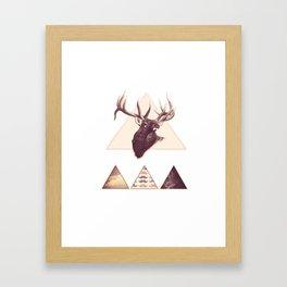 What d'ya say? Framed Art Print