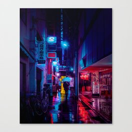 Tokyo Nights / Minutes To Midnight / Liam Wong Canvas Print