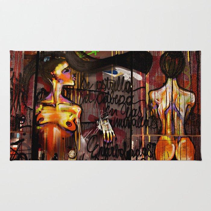 Wall Art Females Rug