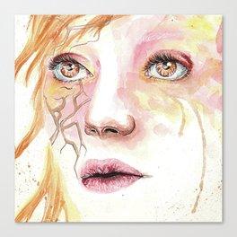 Beautiful even after broken Canvas Print