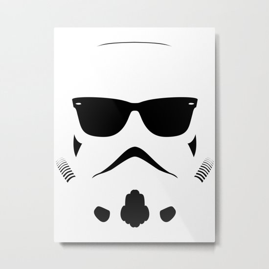 Shadetrooper Metal Print