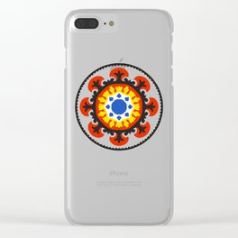 Bold and bright beauty of suzani patterns ver.4 Clear iPhone Case