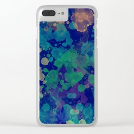 Abstract XV Clear iPhone Case