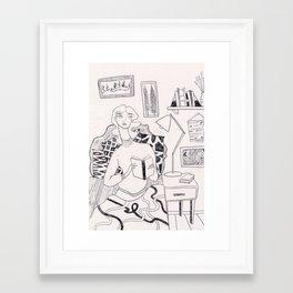 Favorite Place Framed Art Print