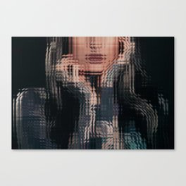 Mirror Girl Canvas Print