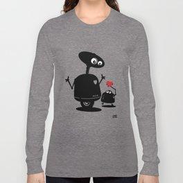 Robot Heart to Heart Long Sleeve T-shirt