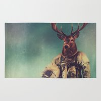 large Area & Throw Rugs featuring Without Words by rubbishmonkey