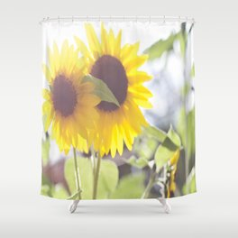 Sunflowers From My Mother-in-law's Garden Shower Curtain