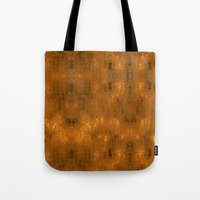 gold foil Tote Bags featuring Gold Foil 10 by Robin Curtiss