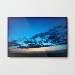 Sunset 041017 Tye, Texas Metal Print