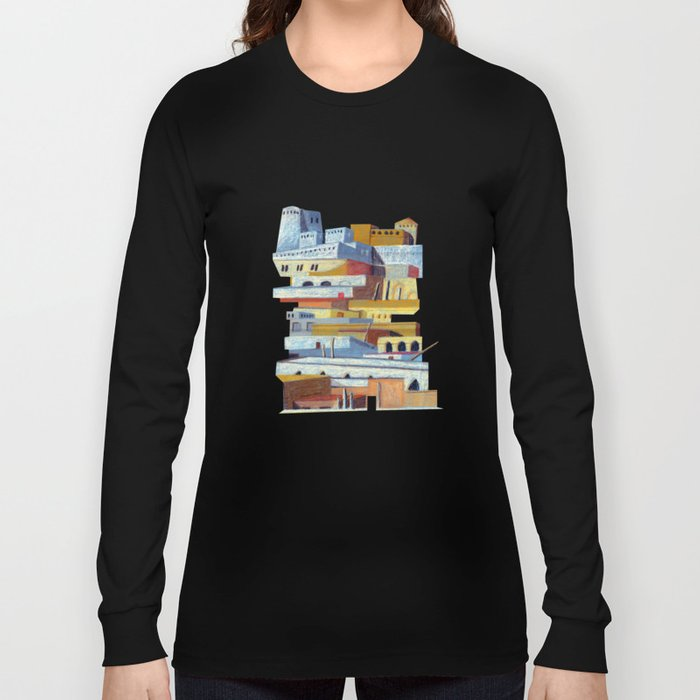 the fortress Long Sleeve T-shirt