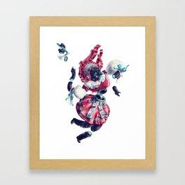 Trickster Wolf Dancer Framed Art Print