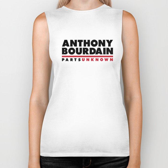 ANTHONY BOURDAIN - PARTS UNKNOWN Biker Tank