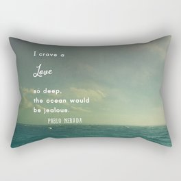Deeper Than the Ocean Rectangular Pillow