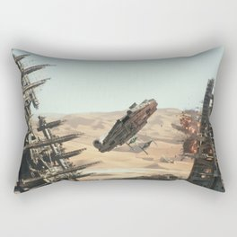 Fighting the Force Rectangular Pillow