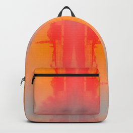 Florence Skyline in Warm Tones Backpack