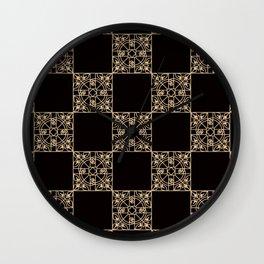 Abstract geometric pattern 2 Wall Clock
