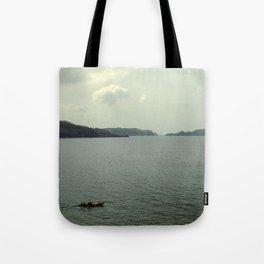 off to sea Tote Bag