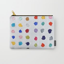 Polka Daubs Carry-All Pouch