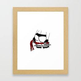 mistress dominatrix whip stockings thong bdsm Bondage Framed Art Print