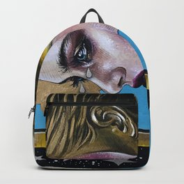 Eclipse 1 (Myth about the sun & stars) Backpack