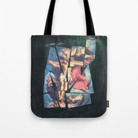 jesus Tote Bags featuring Jesus by Ibbanez