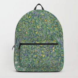 Rosebushes under the Trees Backpack