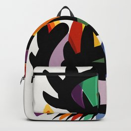Depemiro Abstract Colorful Art Backpack
