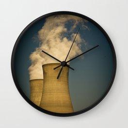 Toxic Towers Wall Clock