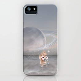 How did I get here, how can I go home. iPhone Case