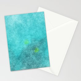 stained fantasy crystalline Stationery Cards
