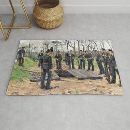 Isaac Lazarus Israels - Military Funeral - Digital Remastered Edition Rug