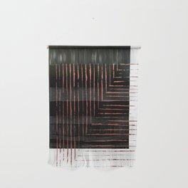 color block. black Wall Hanging