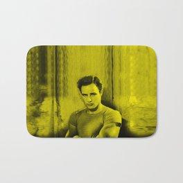 Marlon Brando - Celebrity (Florescent Color Technique) Bath Mat