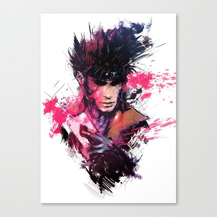 Gambit Canvas Print