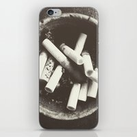 cigarettes iPhone & iPod Skins featuring cigarettes by Sushibird