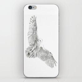 Snowy Owl, Bubo Scandiacus iPhone Skin