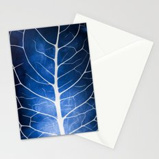Glowing Grunge Veins Stationery Cards